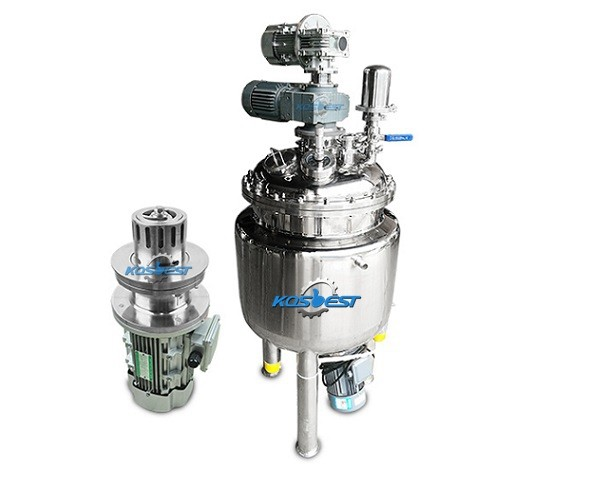 pharmaceutcal industry bottom mixing tank