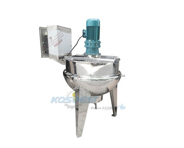 KOSEBST 100L steam jacketed cooking kettle