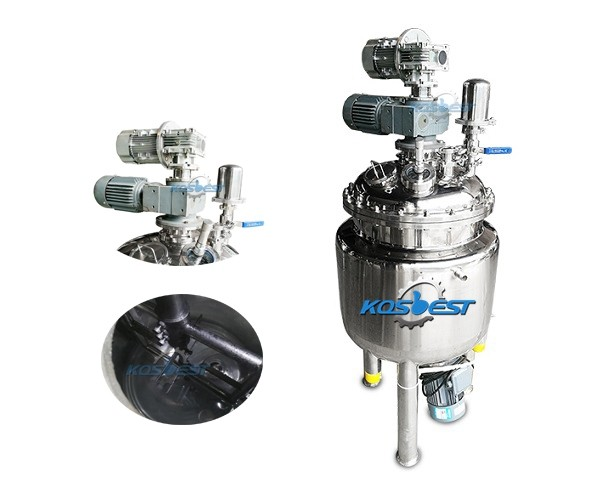 customized homogenizing mixing tank