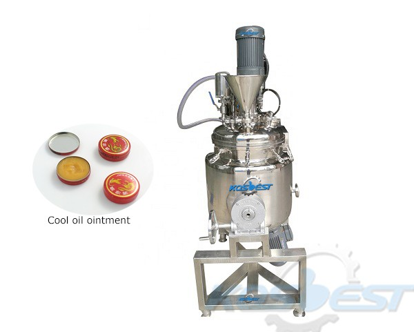 ointment homogenizing mixing tank