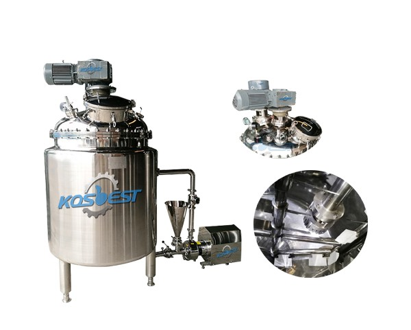 Chemical emulsifying mixer