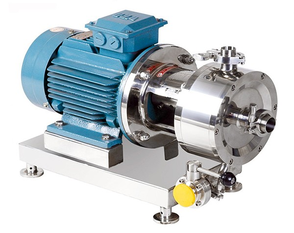 chemical homogenizing pump