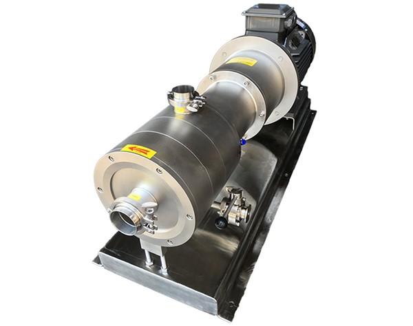 three-stage homogenizing pump