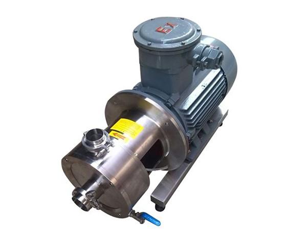 chemical emulsifying pump