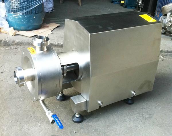 sanitary emulsifier pump