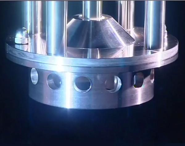 round hole homogenizer head
