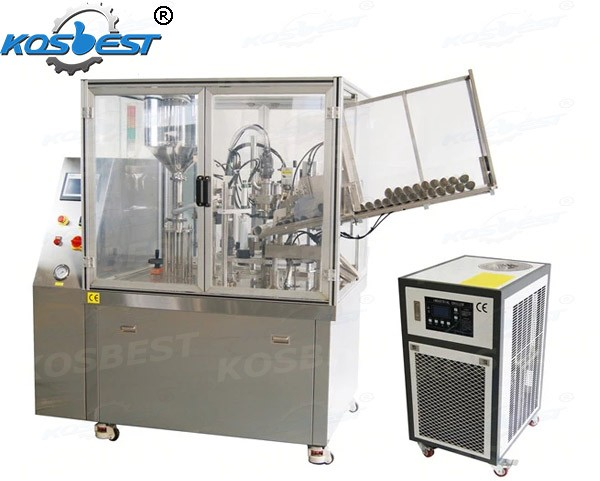 soft toothpaste tube packaging machine