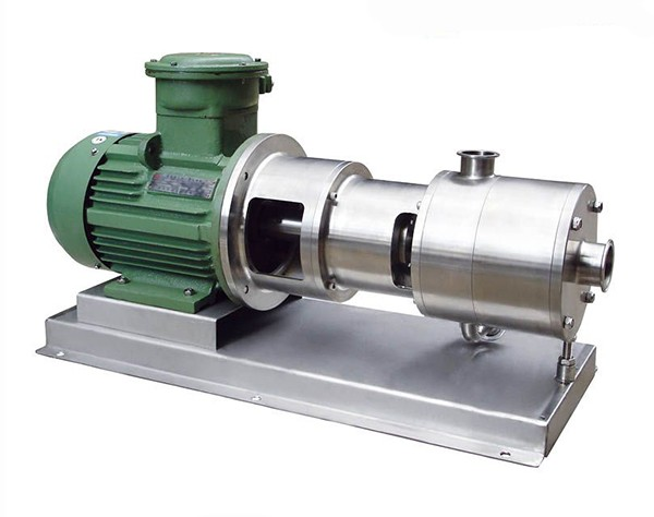 three-stage emulsifier pump