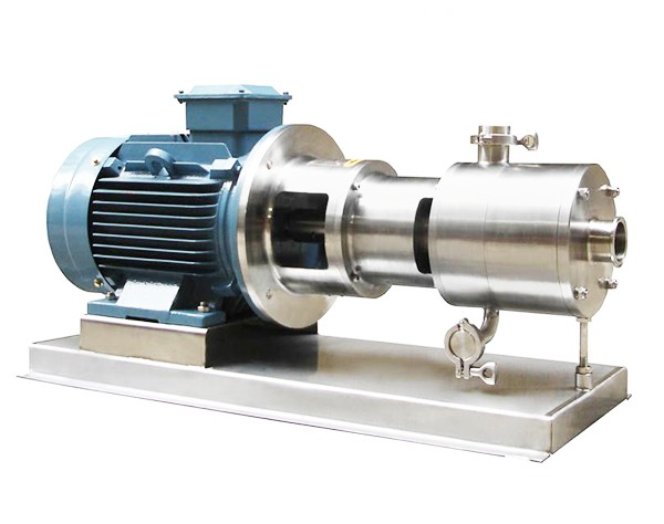 three-stage emulsion pump