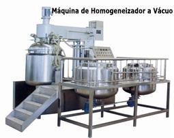 Máquina de Homogeneizador a Vácuo