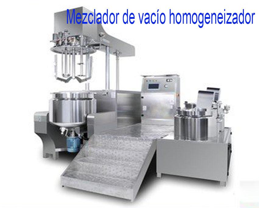 Mezclador de vacío homogeneizador