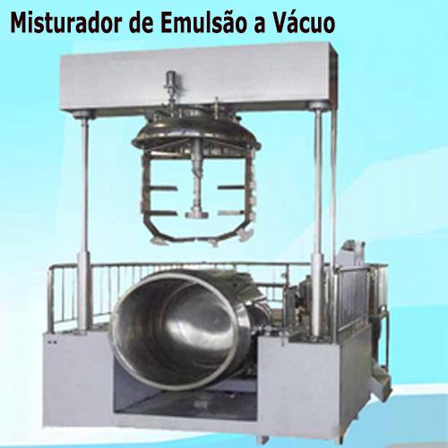 Misturador de Emulsão a Vácuo