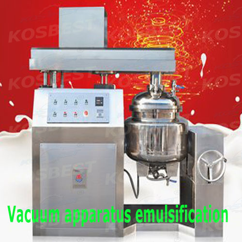 Emulsion vacuo Mixer