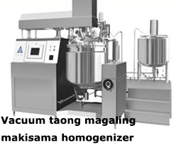 Vacuum taong magaling makisama homogenizer