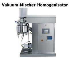 Vakuum-Mischer-Homogenisator