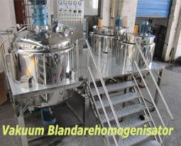 Vakuum Blandarehomogenisator