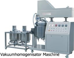 Vakuumhomogenisator Maschine