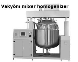 Vakyòm mixer homogenizer