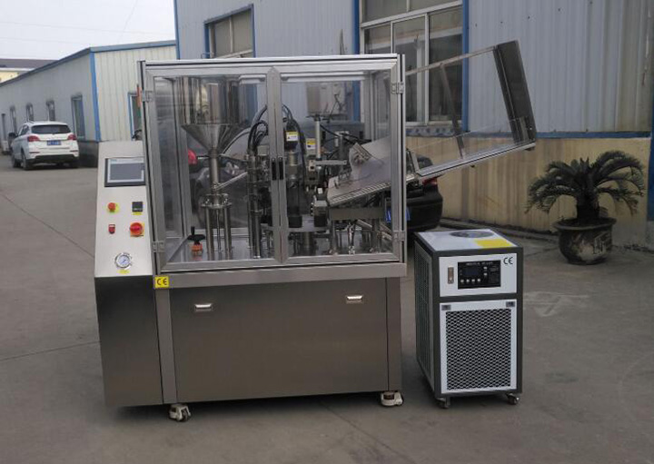 Factory Image for Automatic Soft Tube Filling and Sealing Machine