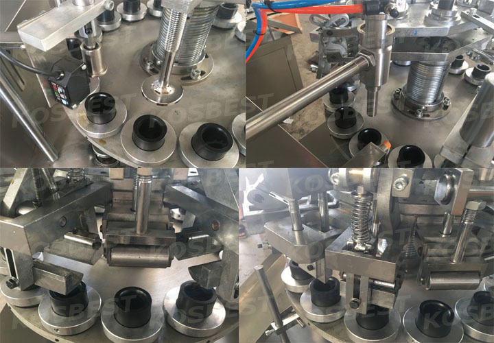 product details for the Automatic Aluminum Tube Filling and Sealing Machine