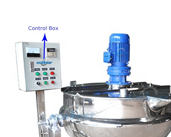 Image of the Control Box of the Jacket Kettle