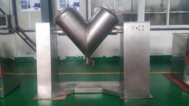 Kos-vh500 Dry or Wet Powder Mixer Industrial Mixing Machine