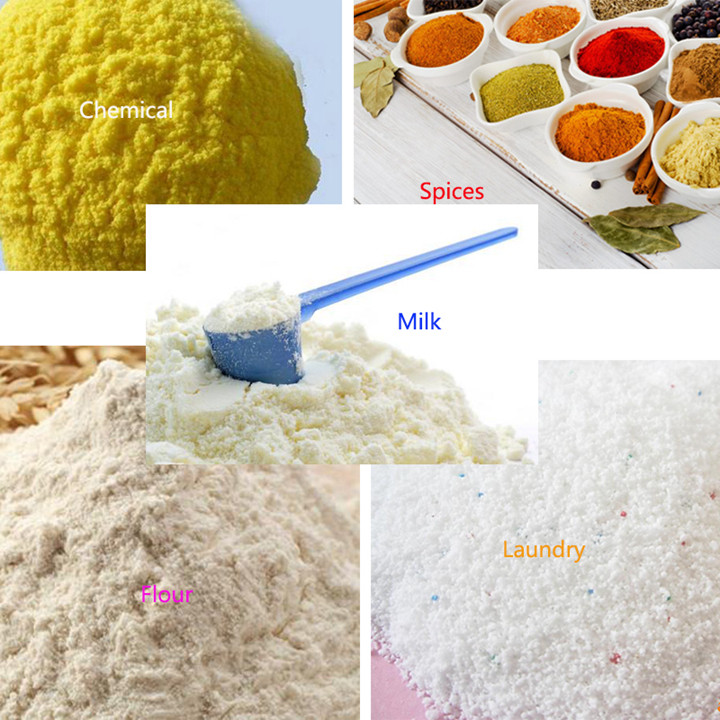 Powders in different industies