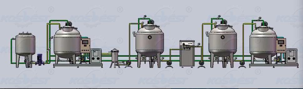 Milk Pasteurizer Processing Plant Line-1