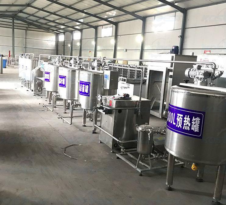 Milk Pasteurizer Processing Plant Line-2