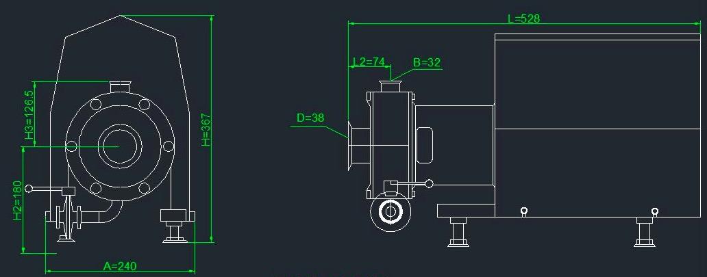 inline homogenizer, inline emulsifying mixer