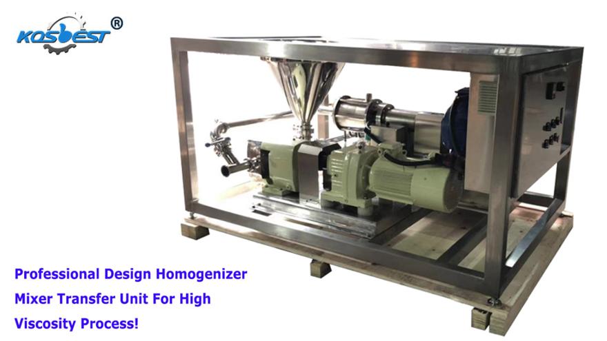 KOSBEST Homogenizing Pump