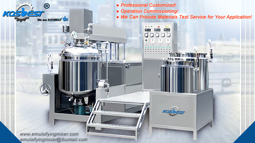 KOSBEST emulsifying equipment
