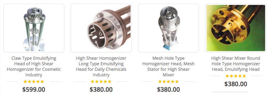 KOSBEST® High shear mixer