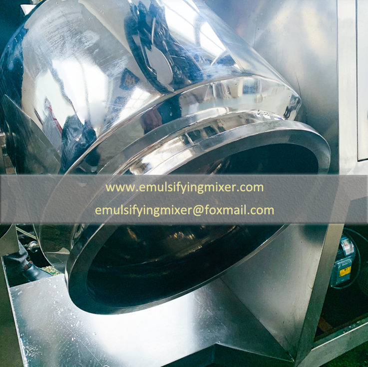 way how to discharge the materials from vacuum high shear batch mixer