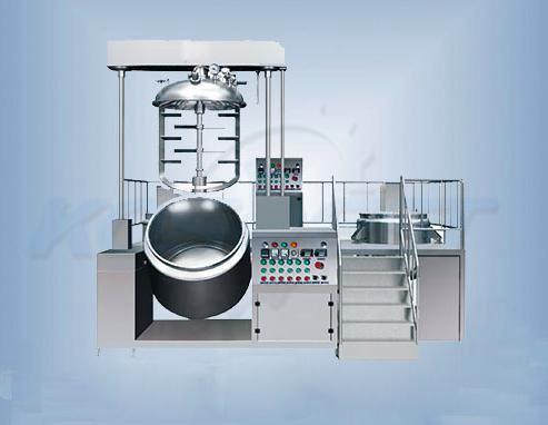 KOSBEST® Vacuum homogenizer mixer