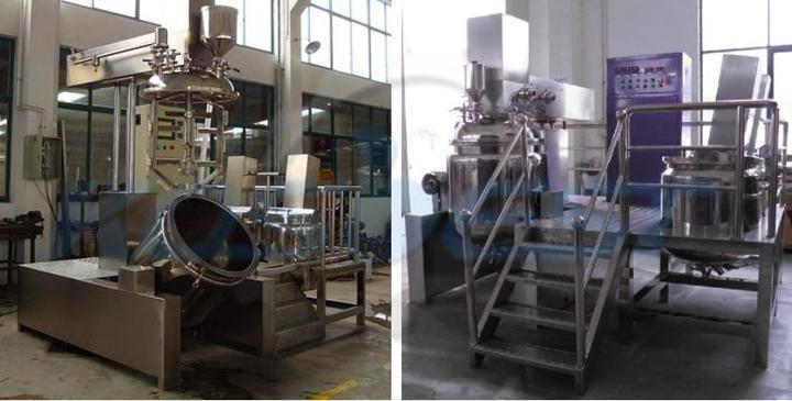 Vacuum Emulsifying Homogenizer Mixer