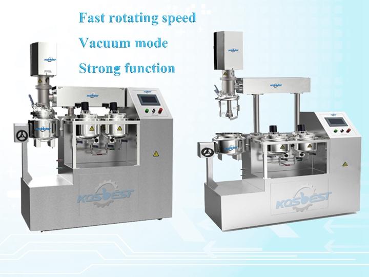 Kos-Z510 vacuum emulsifying mixer