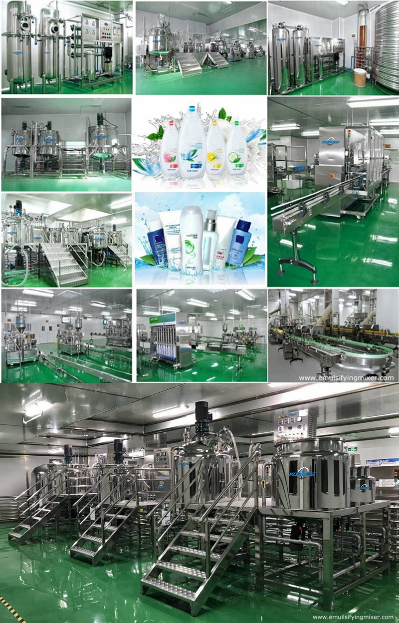 Lotion and Shampoo Production Line
