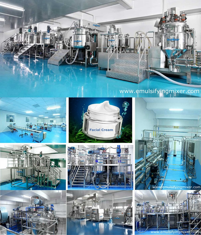 Icream and Paste Production Line
