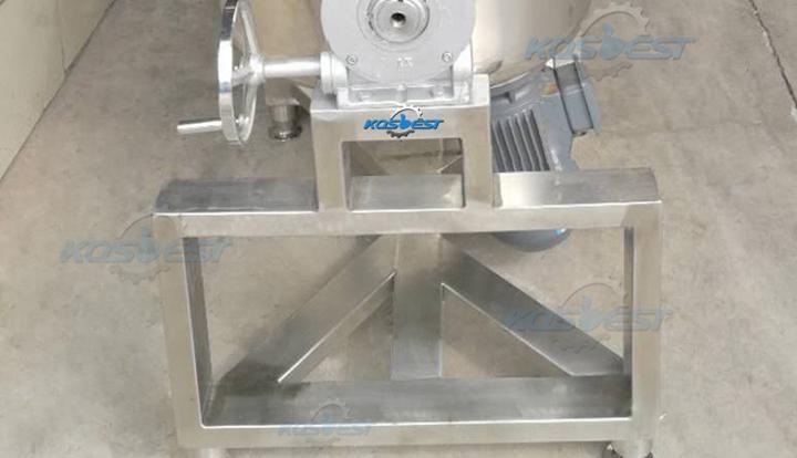 Pure steel Base of Kos-J15 ointment homogenizing stirring tank