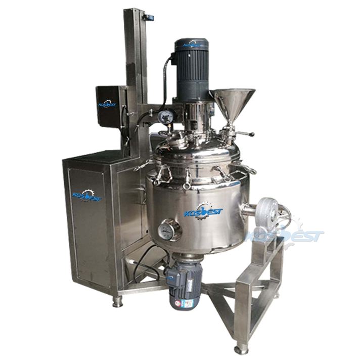 KOSBEST Toothpaste Emulsifying Ointment Mixing Tank Equipment Sealling Tank Ingredients Tank