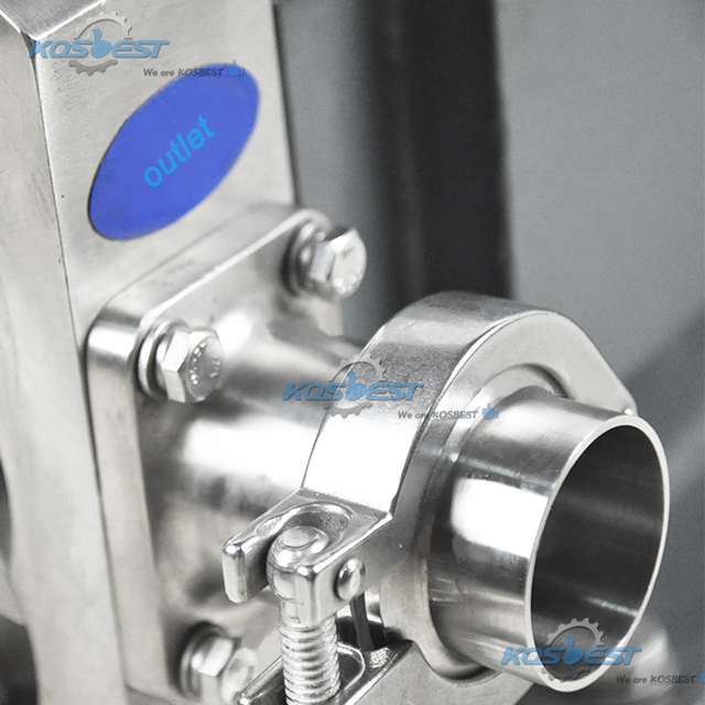 Details picture of KOSBEST Rotary Lobe Pump