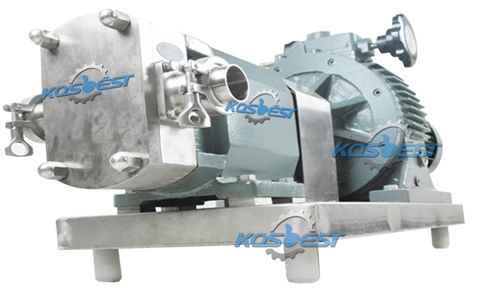 Solid Chassis of the Kos-ZB01 rotor tansfer pump
